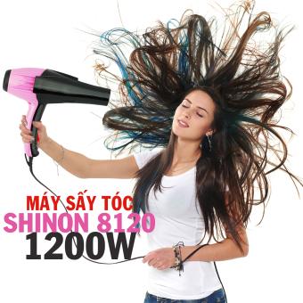 Máy sấy tóc Shinon SH-8120 (Hồng phối đen)