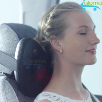 Gối massage hồng ngoại 8 đá PL-819 2017 + Tặng đầu cắm ô tô