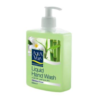 Nước rửa tay dưỡng chất Tre Rừng AquaVera Liquid Hand Wash 500ml # Bamboo Forest