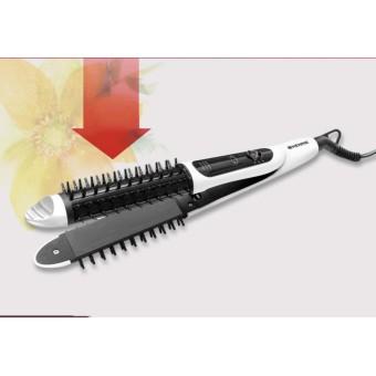 Máy ép tóc 2 trong 1 - Lược điện uốn, là tóc 2 trong 1 RUVA A9 cao cấp, giá rẻ nhất.