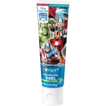 Kem đánh răng trẻ em Crest Avengers - Fruit Burst (Hương trái cây) 119g
