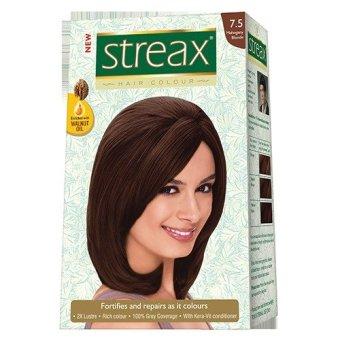 Thuốc nhuộm tóc Streax màu Nâu đậm - Nhập khẩu Ấn Độ