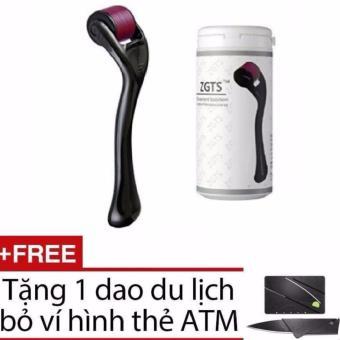 Cây lăn kim ZGTS 540 + Tặng 1 dao du lịch bỏ ví hình thẻ ATM