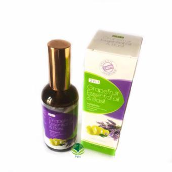 Tinh dầu Hương Nhu và Vỏ bưởi ngăn rụng tóc 100ml