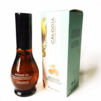 Tinh dầu dưỡng bóng và mềm tóc Argan Calodia