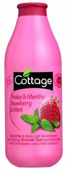 Sữa tắm hương dâu và bạc hà Cottage Strawberry And Mint 750ml