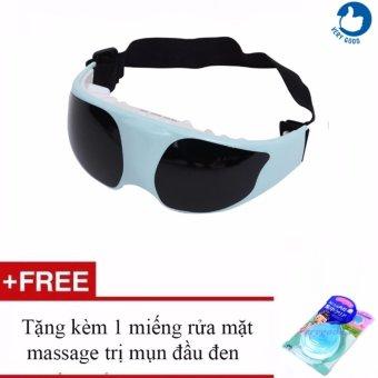 Máy Mát-Xa Mắt -TS0816 + Tặng 1 Miếng Rửa Mặt Massage Trị Mụn