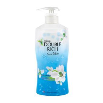 Sữa tắm DOUBLE RICH SNOW WHITE Hương hoa Xuyên Tuyết trắng mịn làn da 550g