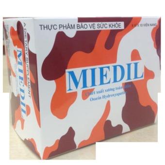 Viên uống hỗ trợ tăng chiều cao chiết xuất xương toàn phần Miedil 60 viên