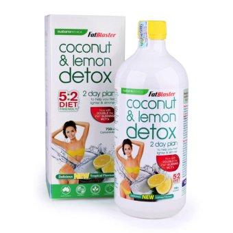 Thức Uống Giảm Cân Thanh Lọc Cơ Thể Vị Dừa Chanh Naturopathica Fatblaster Coconut & Lemon Detox 750ml