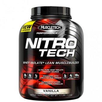 Bột Protein Muscle Tech Nitro Tech Performance Series vị Vanilla 1.8kg