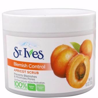 Kem tẩy tế bào chết toàn thân hương mơ St.Ives Fresh Skin Apricot Scrub 283g