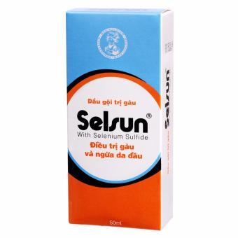 Dầu gội trị gàu và ngứa da đầu Selsun Selenium Sulfide 50ml