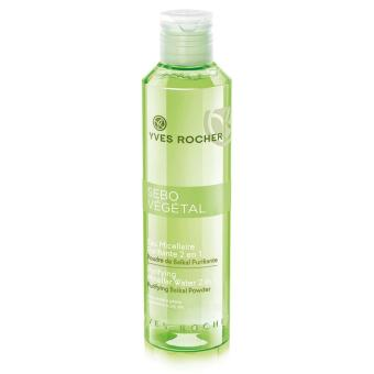 Toner thanh lọc da 2 trong 1 Yves Rocher Purifying Micellar Water 2 in 1 200ml
