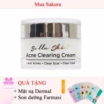 Kem Trị Mụn, Xoá Vết Thâm Do Mụn Để Lại Acne Clearing Cream