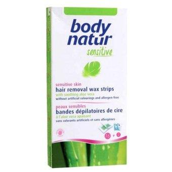 Miếng Dán Tẩy Lông Chiết Xuất Lô Hội Body Natur Sensitive