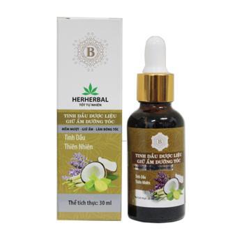 Tinh dầu dược liệu giữ ẩm dưỡng tóc 30ml