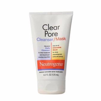 Sữa rửa mặt Neutrogena Clear Pore Cleanser & Mask
