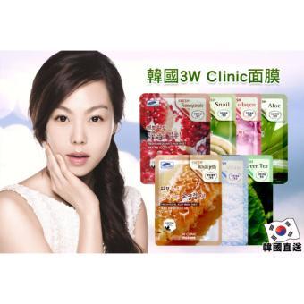 Bộ 10 gói mặt nạ sữa tươi 3W Clinic Fresh Milk Mask Sheet 23ml X 10