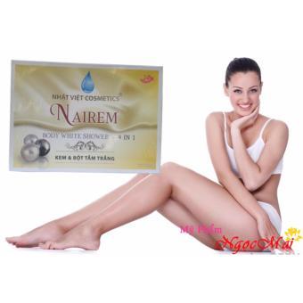 Kem và bột tắm trắng toàn thân Nairem (4 gói)