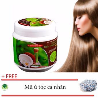 Dầu dừa ủ tóc siêu mượt TL + Tặng 01 Mũ ủ tóc cá nhân