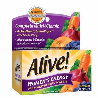 Thực Phẩm Bảo Vệ Sức Khỏe Alive! Women's Energy 50tab