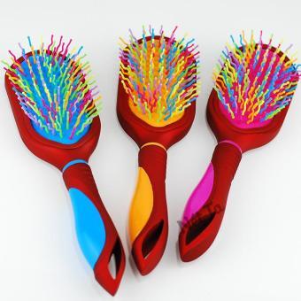 Lược bàn đệm chống rối massage đầu và tạo độ phồng cho tóc (màu ngẫu nhiên) Nét Ta 6877