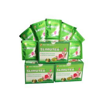 3 hộp trà giảm cân Slimutea - Học Viện Quân Y