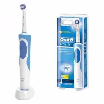 Bàn chải đánh răng điện Oral-B Vitality Plus 2 đầu Pro White