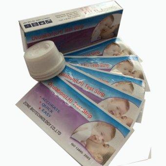 Bộ 5 Que Thử Rụng Trứng Ovulation (Lh) Test Strip + Tặng 1 Que Thử Thai Amestick
