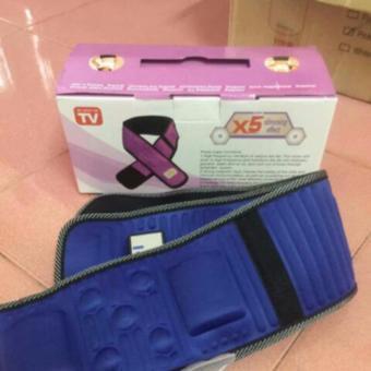 Đai matxa dành cho bụng và đùi X5 (xanh)