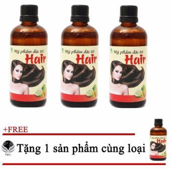 Bộ 03 Tinh dầu bưởi kích thích mọc tóc + Tặng 1 Sản phẩm cùng loại