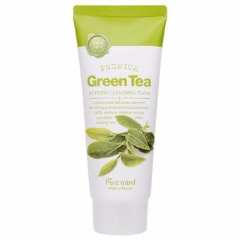 Sữa rửa mặt trà xanh Pure Mind Premium Green Tea Cleansing Foam 100ml