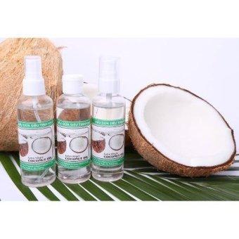 Dầu Dừa Siêu Tinh Khiết 100ml Dưỡng Da Trắng Mịn Extra Virgin Coconut Oil EVCO