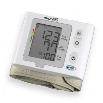Máy đo huyết áp cổ tay Microlife BP W2 Slim Trắng