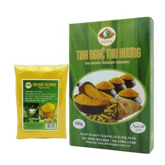 Bộ 1 gói 200g và 1 gói 500g Tinh bột nghệ vàng Thu Hương nguyên chất