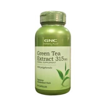 Thực Phẩm Bảo Vệ Sức Khỏe Tăng Sức Đề Kháng Hỗ Trợ Tim Mạch GREEN TEA EXTRACT 315MG Chai 90 viên