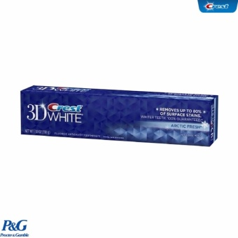 Kem Đánh Răng Crest 3D White 3 Benefits In 1 Arctic Fresh 198g