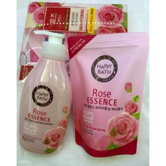 Sữa Tắm Trắng Da Happy Bath Hương Hoa Hồng Rose Essence