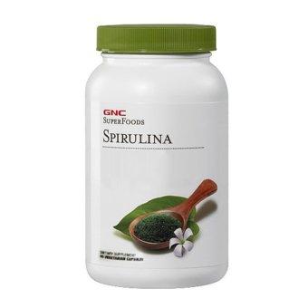 Viên uống bổ sung dinh dưỡng GNC SPIRULINA 90 viên.