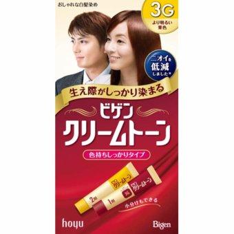 Thuốc nhuộm tóc Nhật Bản Bigen Hoyu 3G (Nâu sáng)