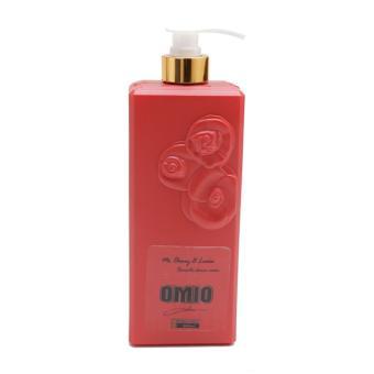 Sữa tắm OMIO chống nắng dưỡng da tinh chất hoa hồng 800ml (Đỏ)