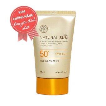 Kem Chống Nắng Đa Chức Năng Natural Sun Eco Power Long-Lasting Sun Cream Spf50+ Pa+++ 50Ml