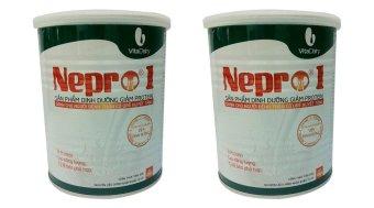 Bộ 2 Sữa dành cho người bênh thận Nepro 1 - 400g