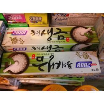 Kem đánh răng ngăn chặn tối đa các vi khuẩn gây hại DONGEUI tinh chất thảo mộc chứa muối Hàn Quốc 120g - Hàng Chính Hãng