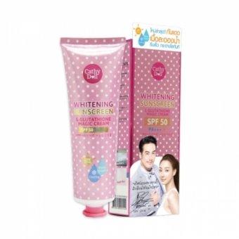 Kem chống nắng trắng da Cathy Doll L-glutathione Magic Cream SPF50 PA+++ 60ml