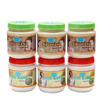 Bộ 6 hộp bột đậu nành dưỡng trắng da 250g