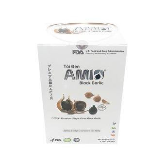 Tỏi đen cô đơn AMIO còn nguyên vỏ 100g x 4