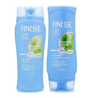 Bộ 1 dầu gội và 1 dầu xả làm dày và mềm mượt tóc Finesse Volumizing (Hàng Chính Hãng)