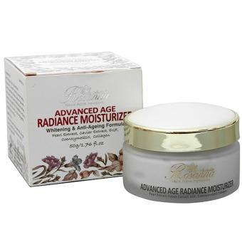 Kem dưỡng trắng và chống lão hóa Rosanna Advanced Age Radiance Moisturizer 50g